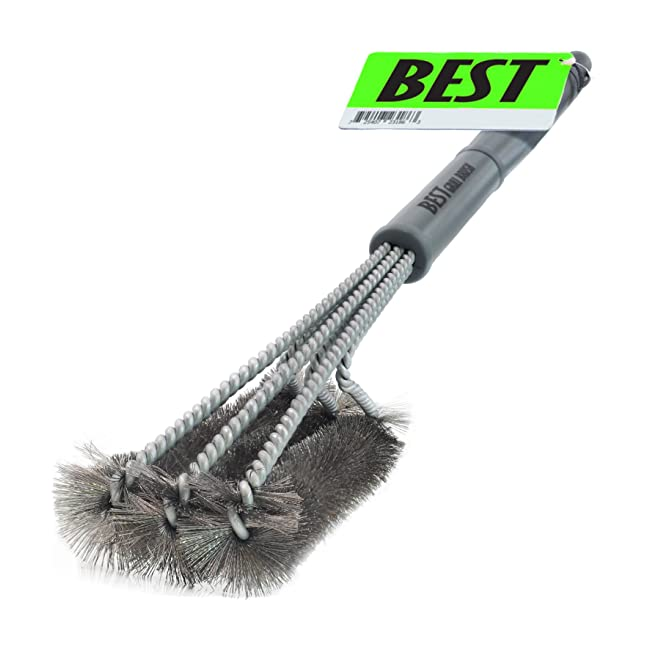 Best BBQ Grill Brush ( HIGHEST QUALITY STAINLE...
