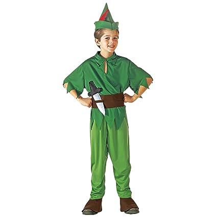 WIDMANN Peter Pan - Niños Disfraz - Pequeño - Edad 5-7 - 128cm
