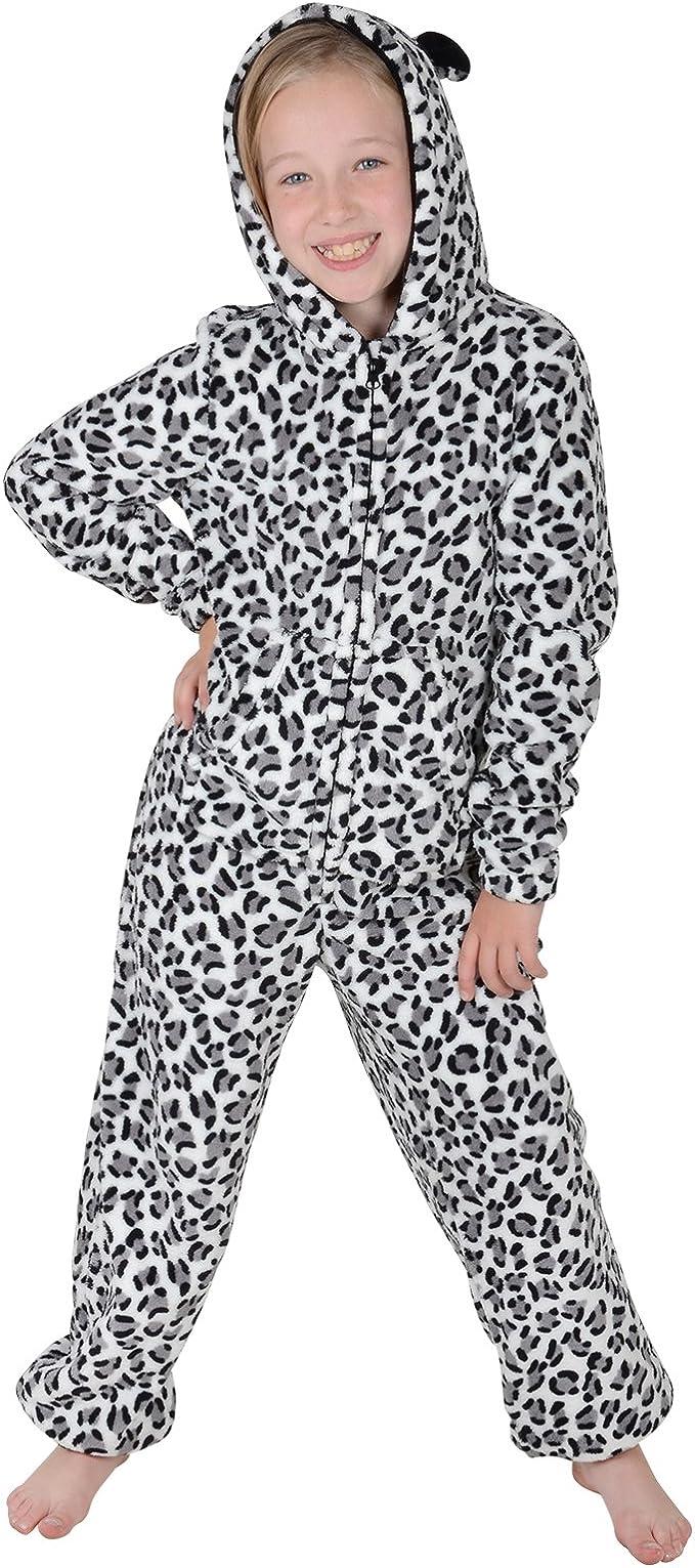 Roaster Toaster Boys Hooded Fleece All in One Piece Pyjamas Jump Sleep Suit Onesie PJs Nightwear