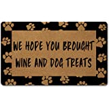 Welcome Door Mats for Home Decor (18 x 30 inch) Funny Mats with Anti-Slip Rubber Back Kitchen Rugs Personalized Doormat…