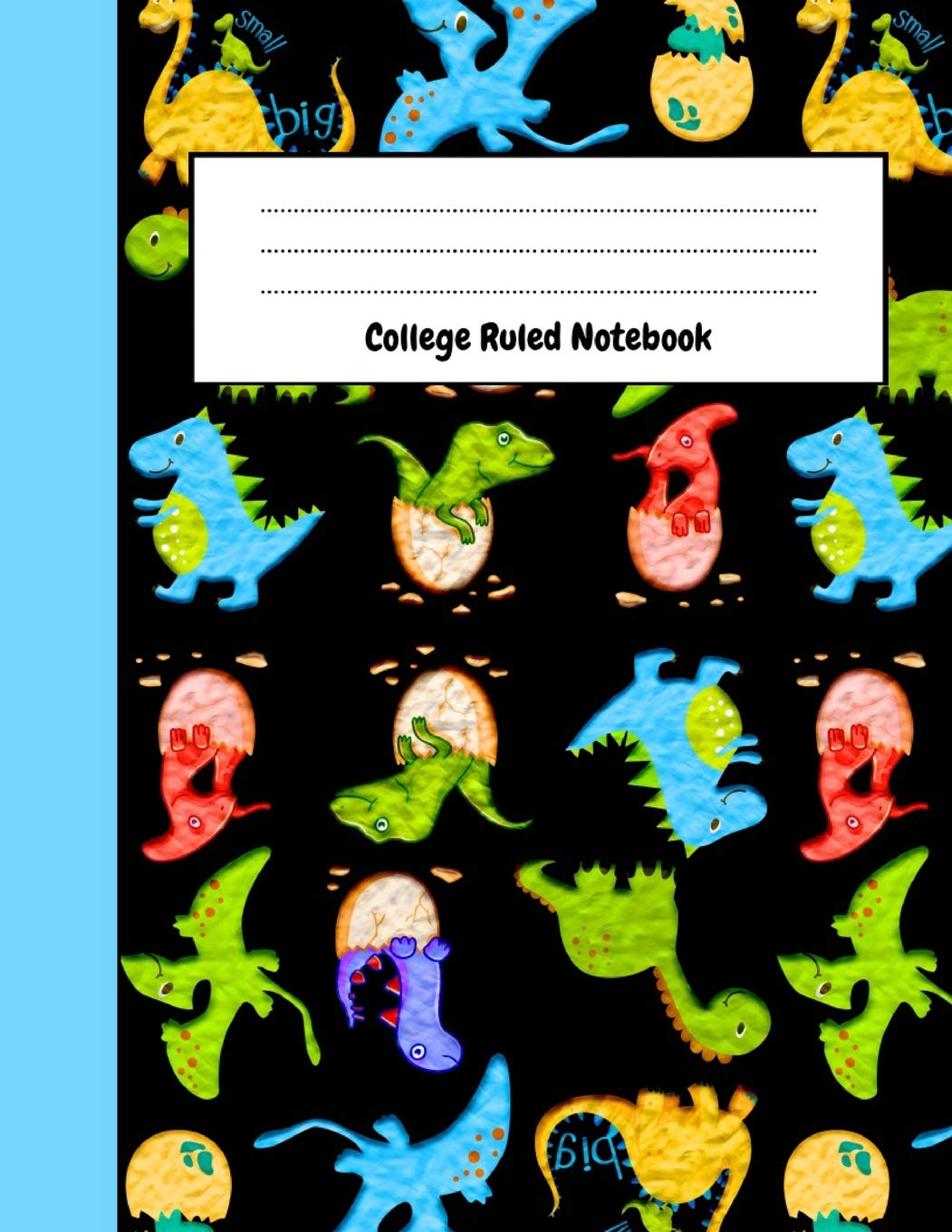 College Ruled Notebook: Cute Dinosaur Journal / Notepad