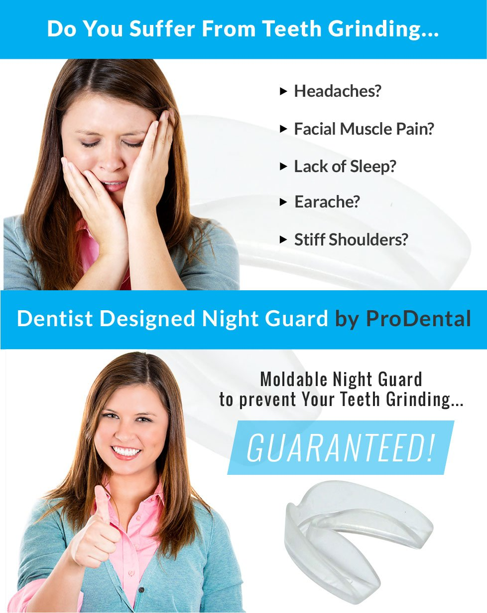 Mouth Guard from ProDental - BPA Free - Teeth Grinding Night Guard, Athletic Mouth Guard, Teeth Whitening Tray - Includes 3 Customizable for Comfort Dental Guards - Hygienic, FDA Approved Soft Material - Made in USA by ProDental (Image #6)