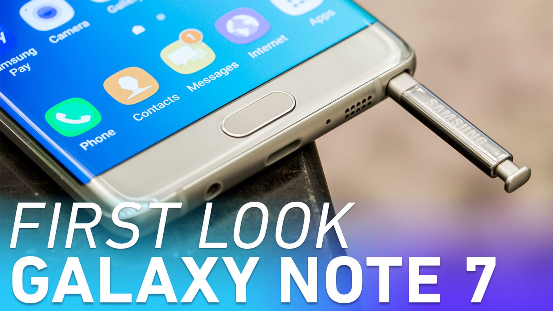 Samsung Galaxy Note 7 first look
