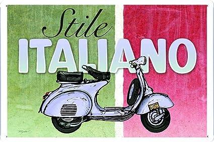 Amazon.com: Vespa Scooter Stile estilo italiano 7.8
