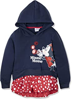 a56588349 Disney Official Minnie Mouse Baby Girls Coral Fleece Hoodie Jumper ...