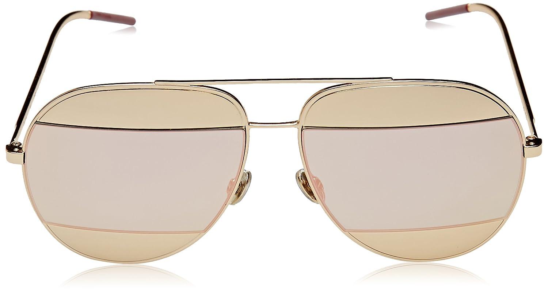 074f6b3ba1a Amazon.com  Dior Womens Split 59Mm Metal Aviator Sunglasses  Clothing