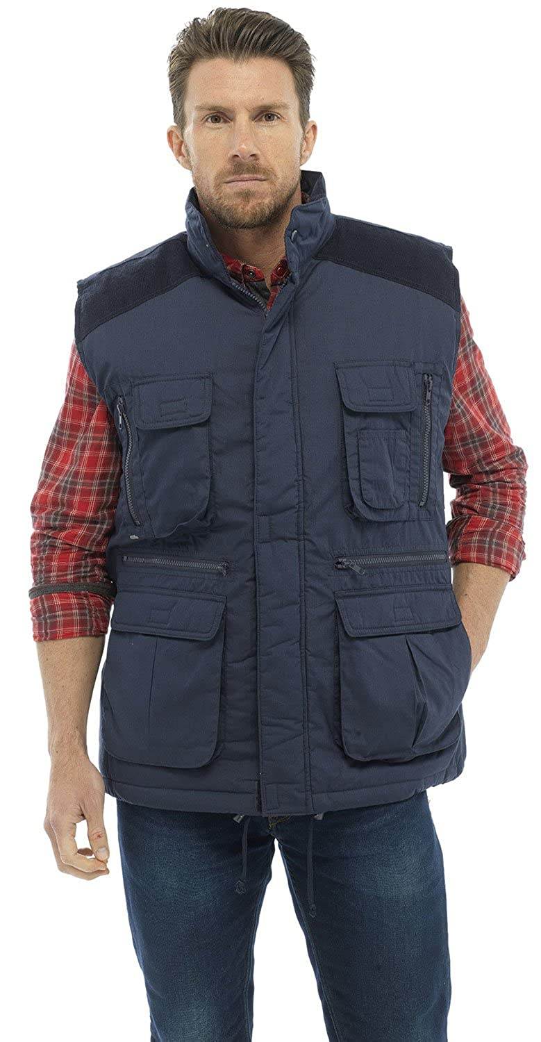 Mens Bodywarmer Gilet Jacket with Pockets