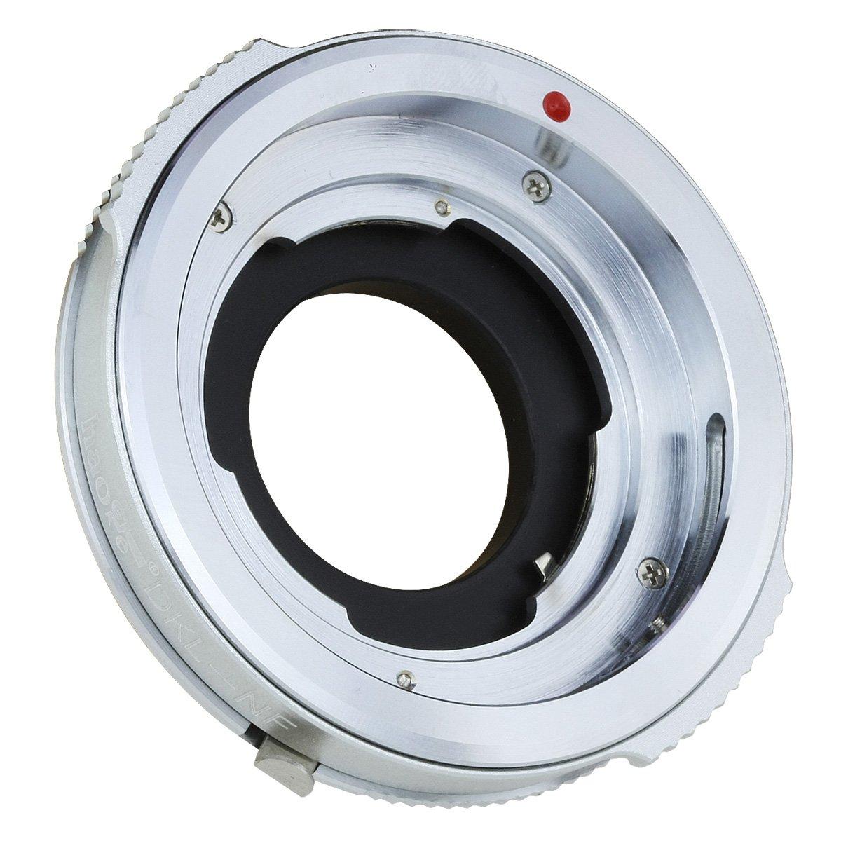 Haoge Lens Mount Adapter for Kodak Retina and Voigtlander Retina Deckel DKL mount Lens to Nikon F Mount D3400 D500 D5 D7200 D810A D300S D3000 D3X D90 D700 Camera