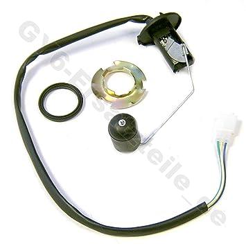 Indicador de combustible y flotador para motores 2 y 4 tiempos QMA/QMB/QMI