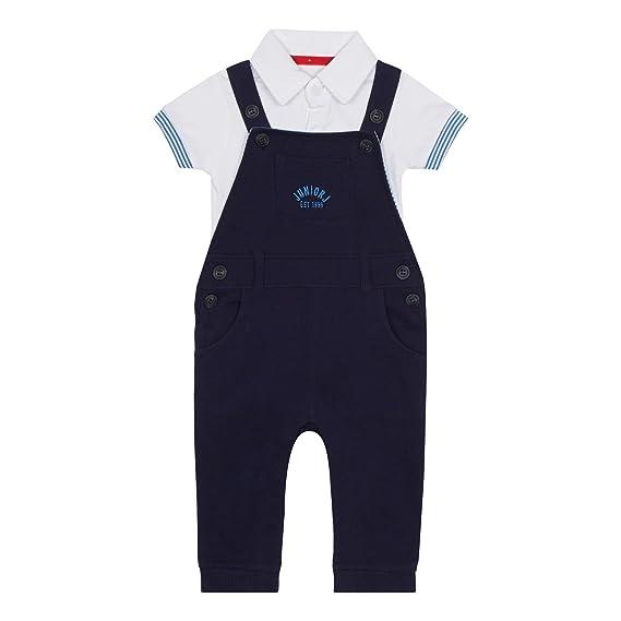 d66eeb8c69cc Debenhams J by Jasper Conran Kids  Baby Boys  Navy Pique Dungarees ...