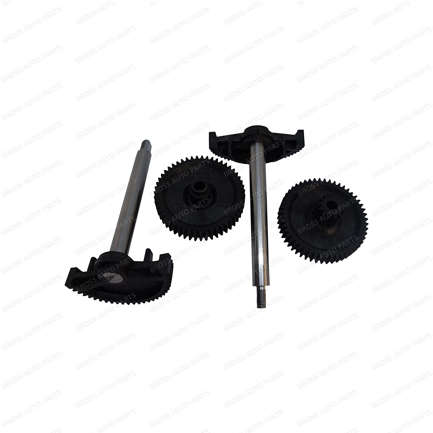 Bross BGE38 2 Sets 4 Pieces Throttle Body Actuator Gear Repair Kit for BMW 13627838085, 13627834494, 13627834494 Bross Auto Parts