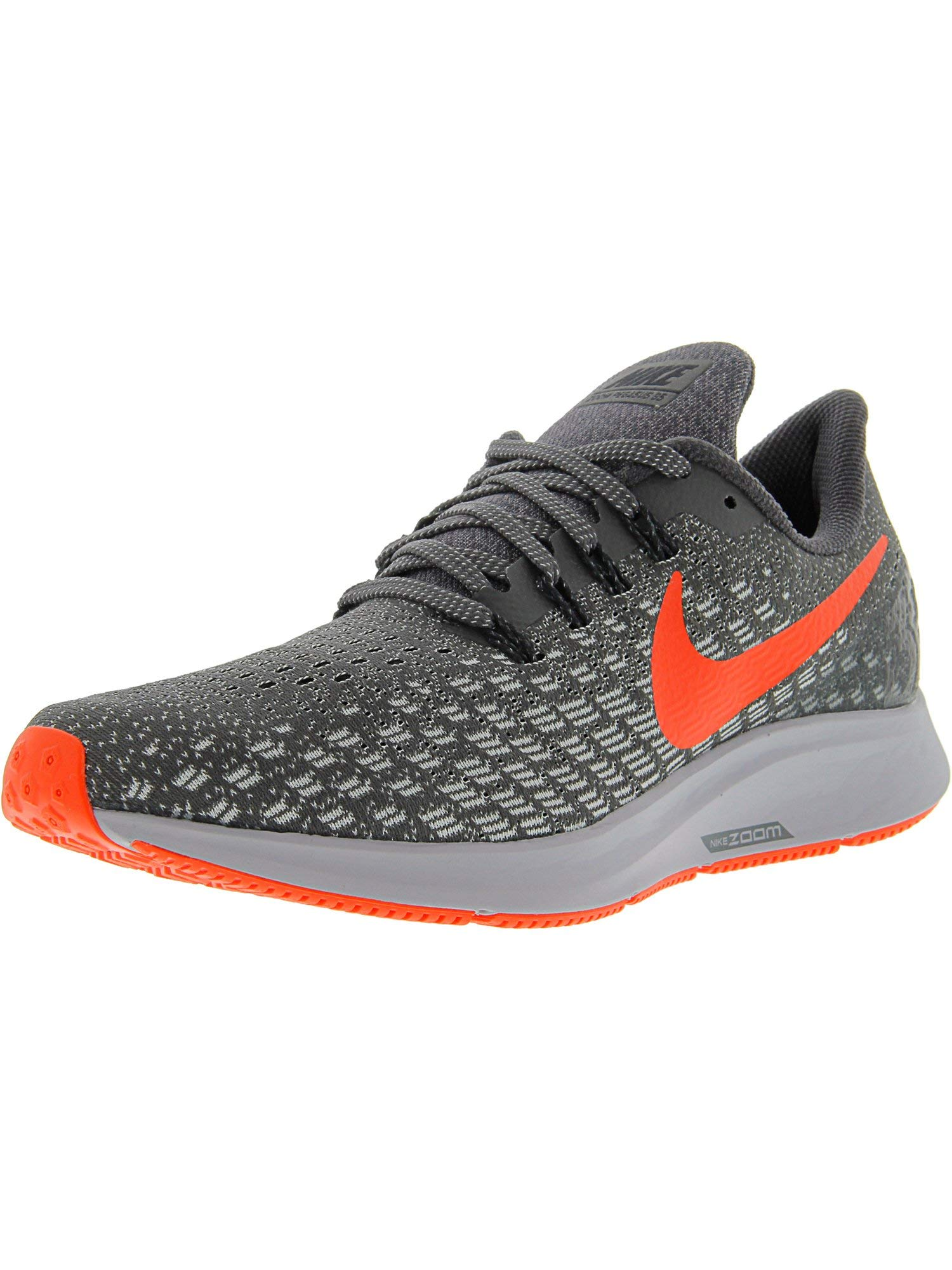 69bbe023c0a Galleon - Nike Men s Air Zoom Pegasus 35 Thunder Grey Bright Crimson Ankle- High Mesh Running Shoe - 12.5M