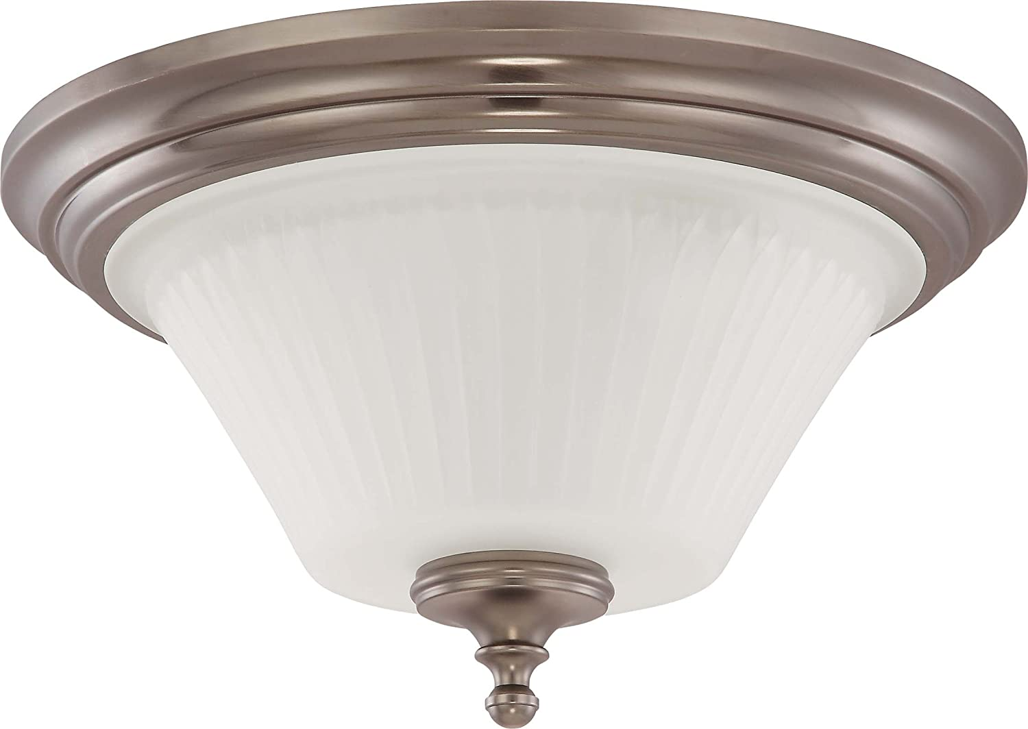 Nuvo lighting 604018 two light teller semi flush dome with frosted nuvo lighting 604018 two light teller semi flush dome with frosted etched glass aged pewter close to ceiling light fixtures amazon arubaitofo Image collections