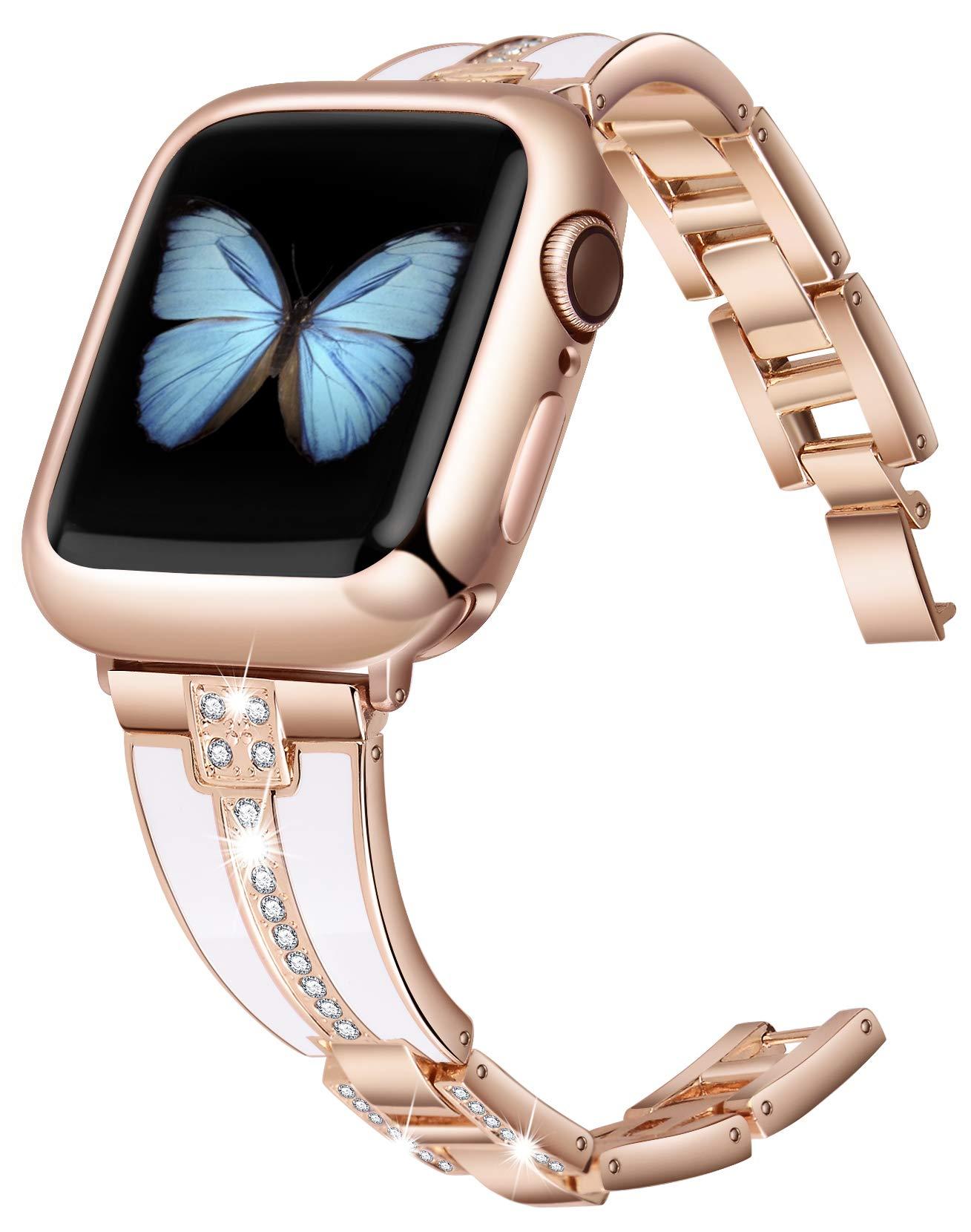 Malla Metal Para Apple Watch (42/44mm) Jsgjmy [7x6dwx43]
