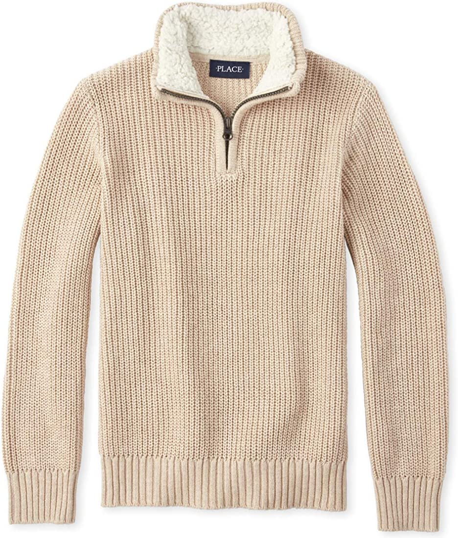 The Childrens Place Baby Boys Big Long Sleeve Sweater