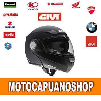 Casco Moto Scooter GIVI Modular x.08 xmodular negro mate Talla XS 54 cm