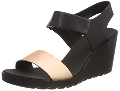 6c2a15b1dc8 ECCO Women s s Freja Open Toe Sandals  Amazon.co.uk  Shoes   Bags