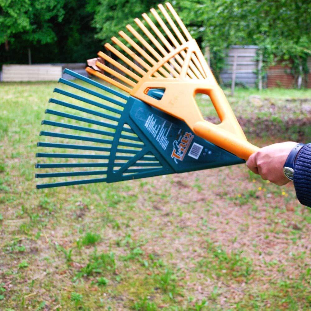 Plein Air Jardin R/âteau t/élescopique ramasse Feuilles