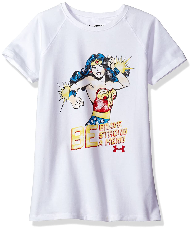 Under Armour Girls' Alter Ego Wonder Woman Hero T-Shirt Under Armour Apparel 1295223