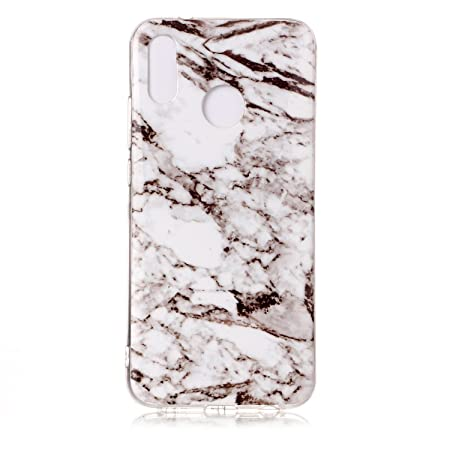 promo code 35591 4c576 CUAgain Huawei P20 lite Case Soft Silicone Marble Design for Huawei ...