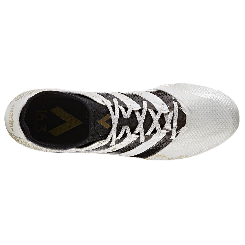 adidas Ace 16.3 Prime Aq3442, Entraînement de Football Homme, Blanc (FTWR White/Gold Metallic/Core Black), 44 2/3 EU