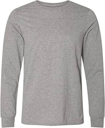 Russell Athletic Mens Cotton Performance Long Sleeve T-Shirt