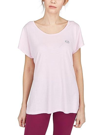 Ultrasport Balance Camiseta de Fitness y Yoga, Mujer