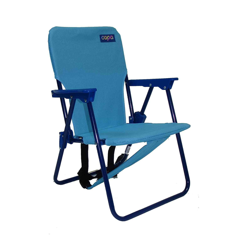 Cool Kids Folding Backpack Beach Chair Light Blue On Sale Lamtechconsult Wood Chair Design Ideas Lamtechconsultcom