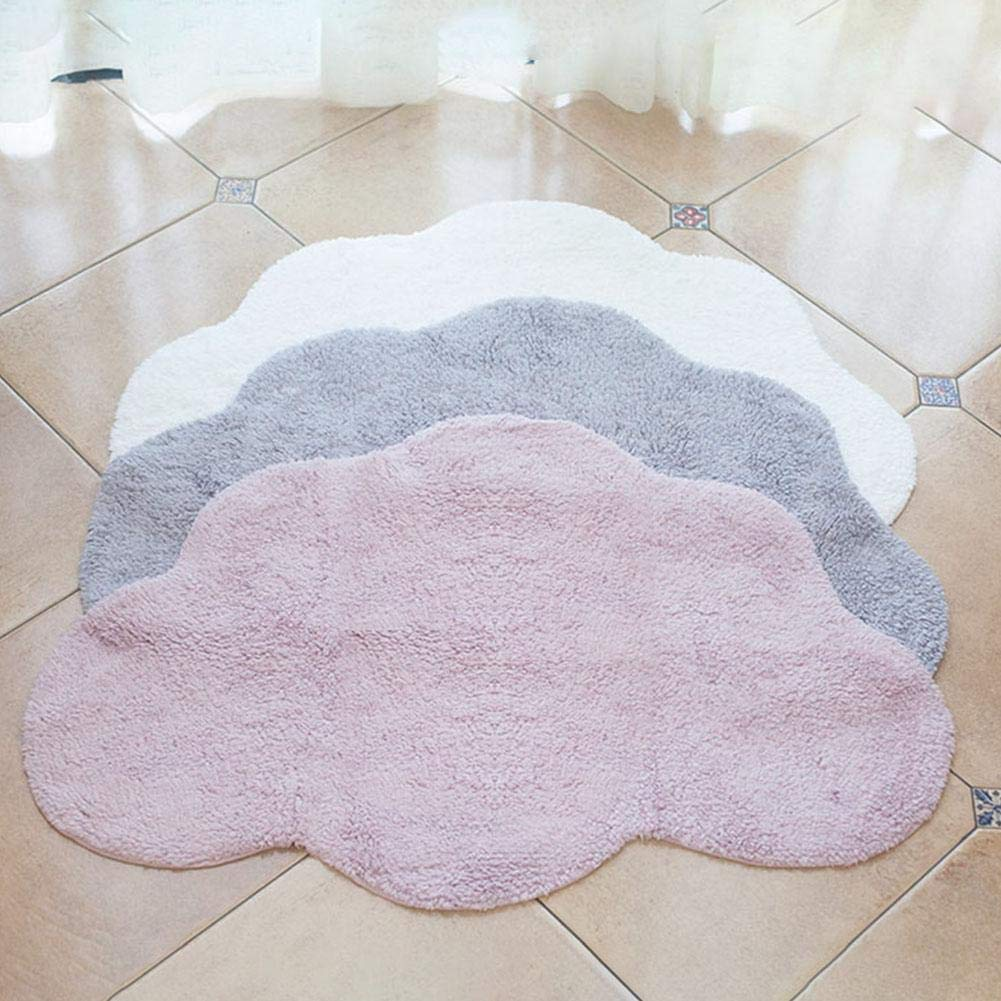 Nordic Style Cloud Shaped Mats Childrens Game Crawling Mat for Home Mat by Dreamseeker