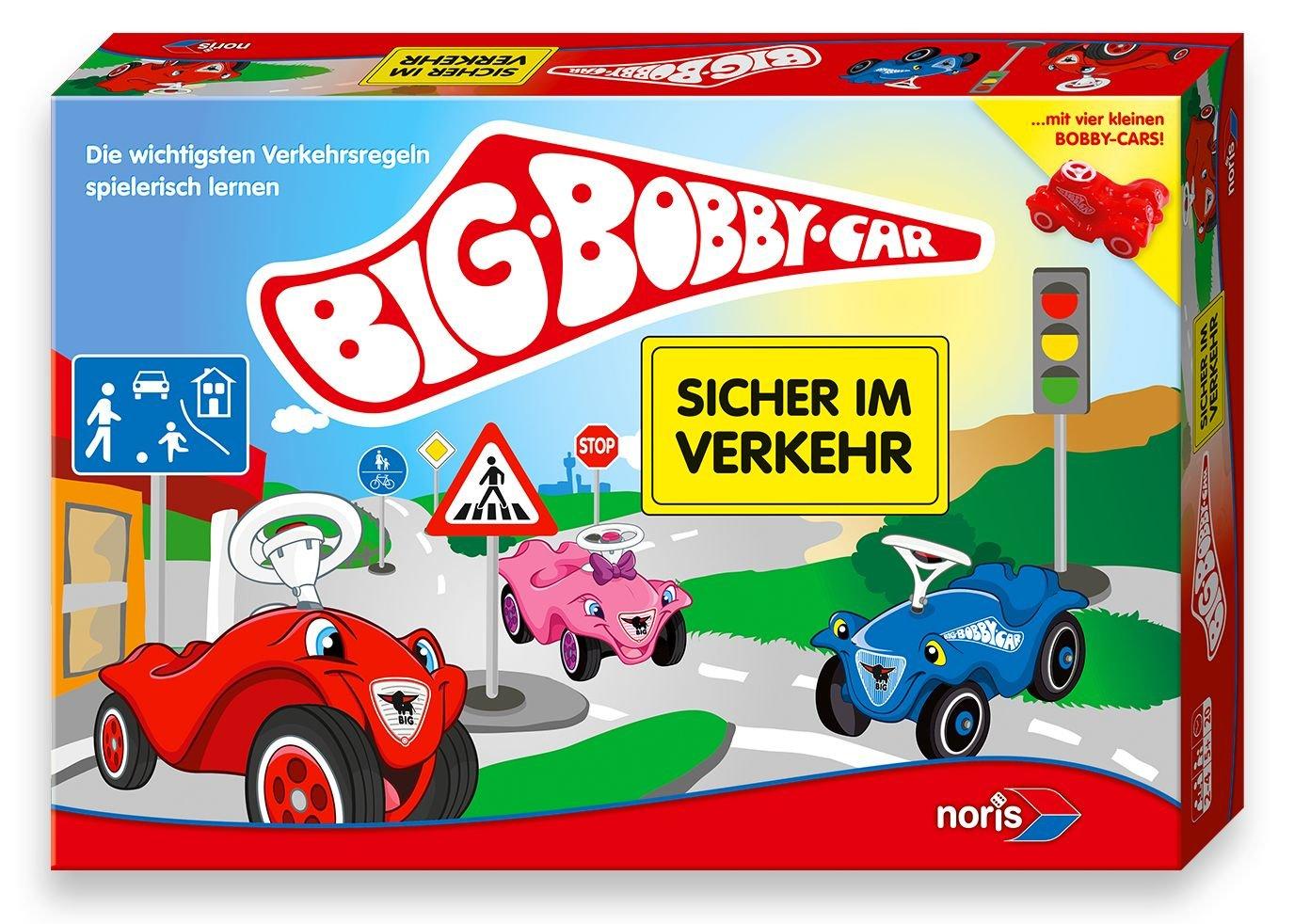 BIG Bobby-Car Spiel Sicher im Verkehr