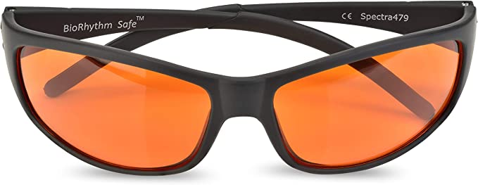 Amazon.com: Blue Blocking Amber Glasses for Sleep - Nighttime Eye Wear - Special Orange Tinted Glasses Help You Sleep and Relax Your Eyes - by Spectra 479: Gateway