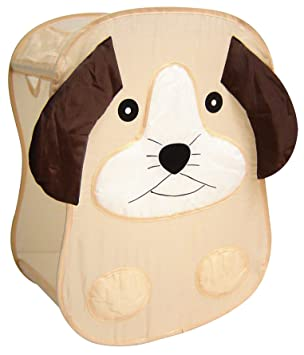 Spielzeugkorb   Wäschekorb Fürs Kinderzimmer   Beige Braun   Hund