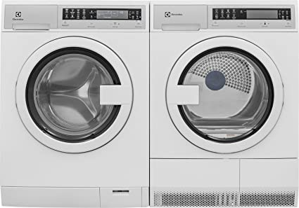 electrolux 24 washer. electrolux white compact laundry pair with eifls20qsw 24\u0026quot; front load washer and eied200qsw 24 k