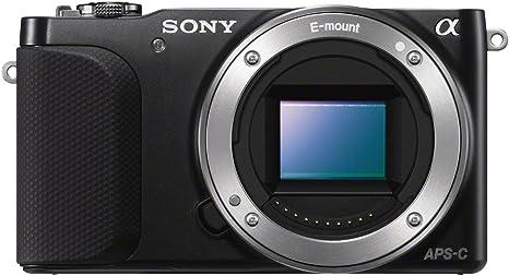 Sony NEX-3NLB - Cámara Evil de 16 MP (Pantalla 3