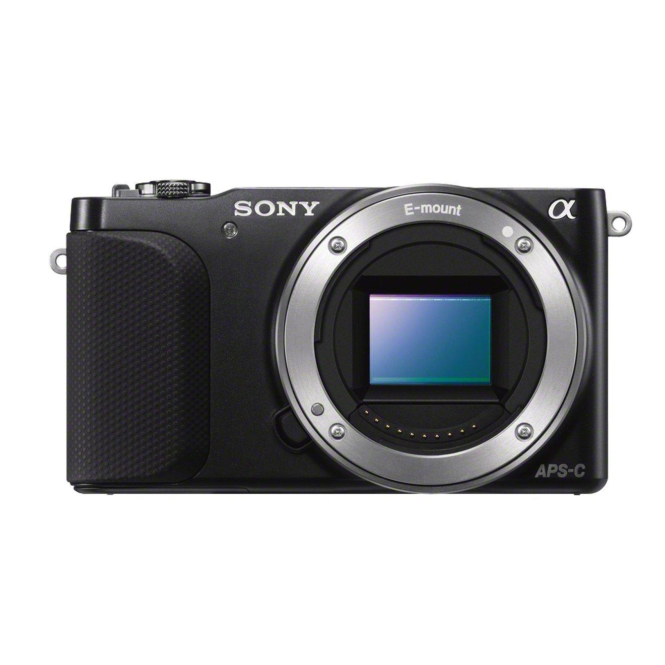 Sony NEX-3NLB Fotocamera Compatta con Ottiche Intercambiabili, Ottica SELP 16-50 OSS, Obiettivo 16-50/3.5-5.6 OSS, Nero product image