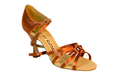 a76e4ffc542 Ray Rose 820 Blizzard Women s latin  Rhythm Dance Shoes (2.5 Inch Flared  Heel)
