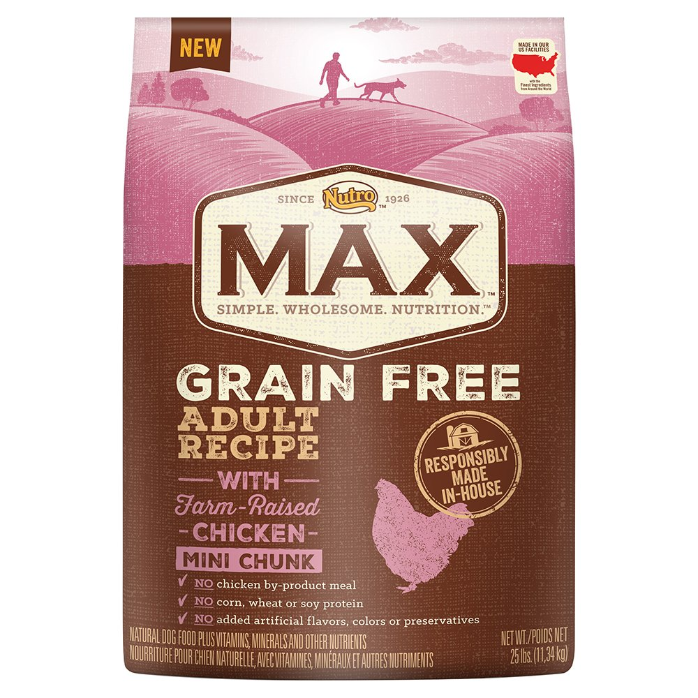 NUTRO MAX Grain Free Natural Adult Dry Dog