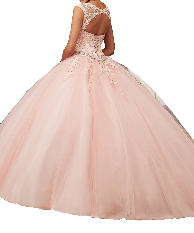 Jianda New Women\'s Girl\'s Boat Neck Floor Length Ball Gowns ...