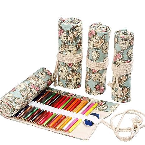 Estuche de lápices para lápices de colores, organizador de ...