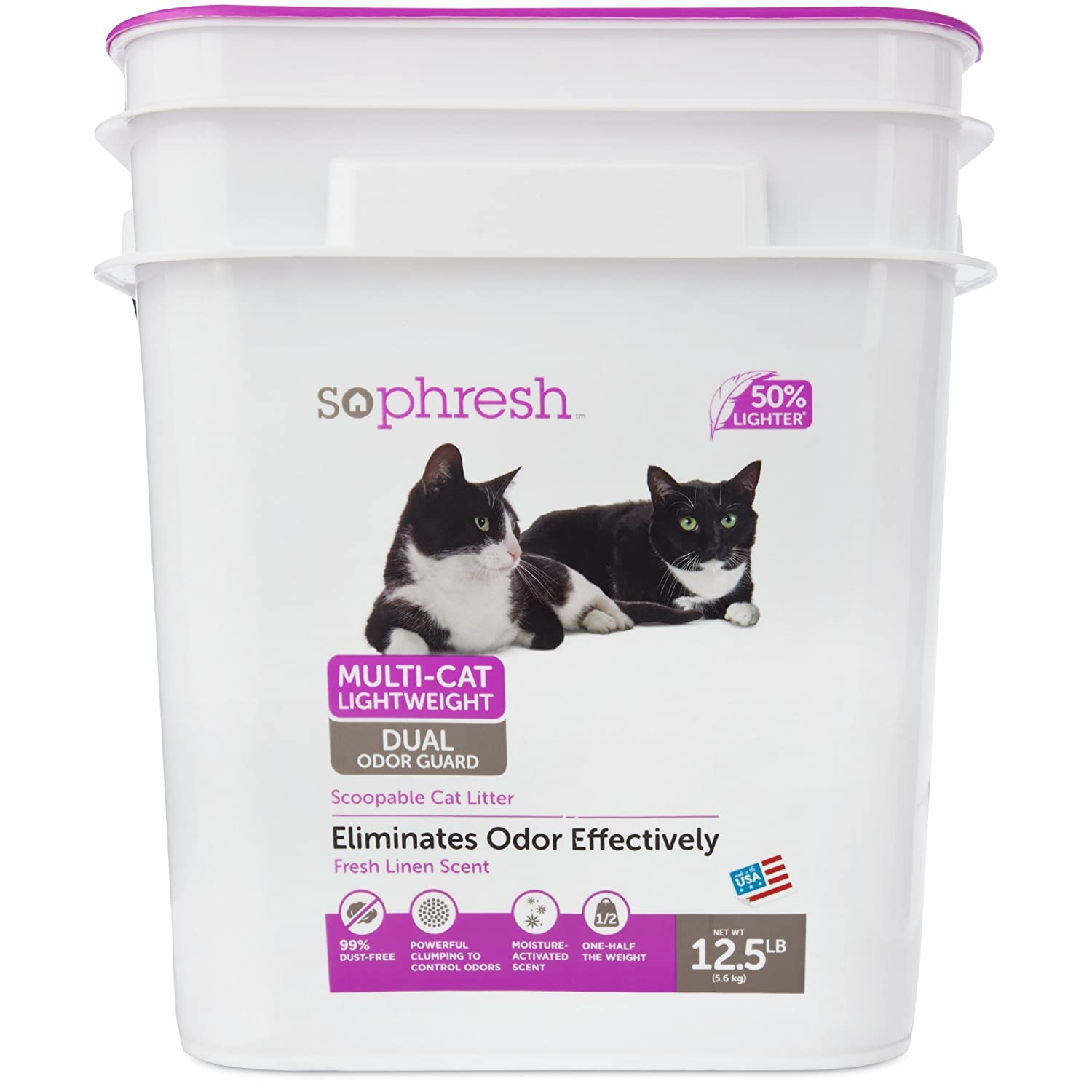 So Phresh Multi Cat Lightweight Dual Odor Guard Litter
