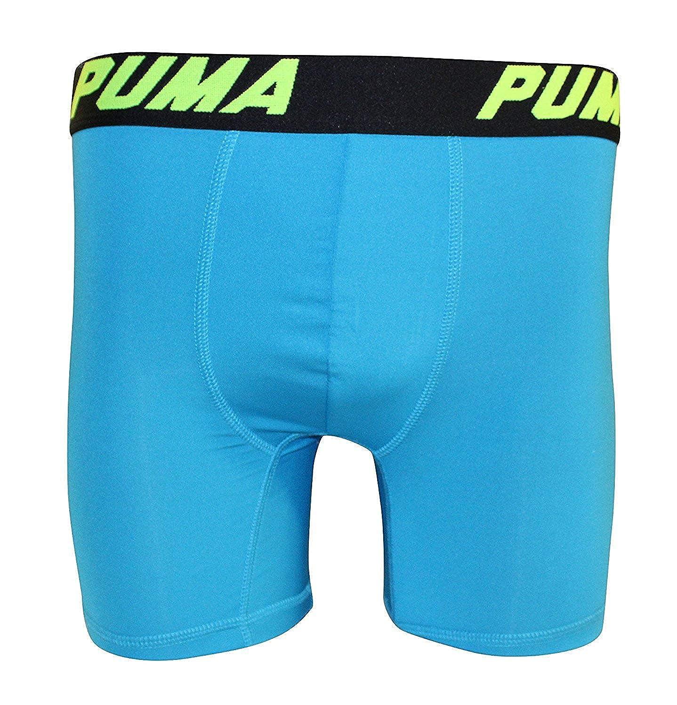 PUMA Mens 3 Pack Tech Boxer Brief