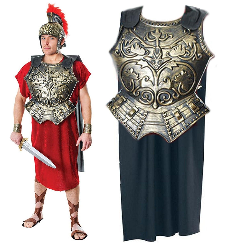 fancy dress costume armour roman breastplate amazon co uk toys