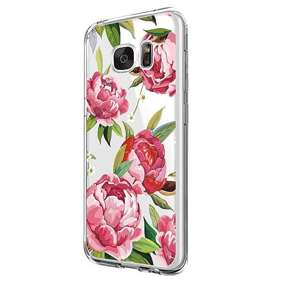 Vanki Funda Samsung Galaxy S7, Suave Soft Transparente Funda ...