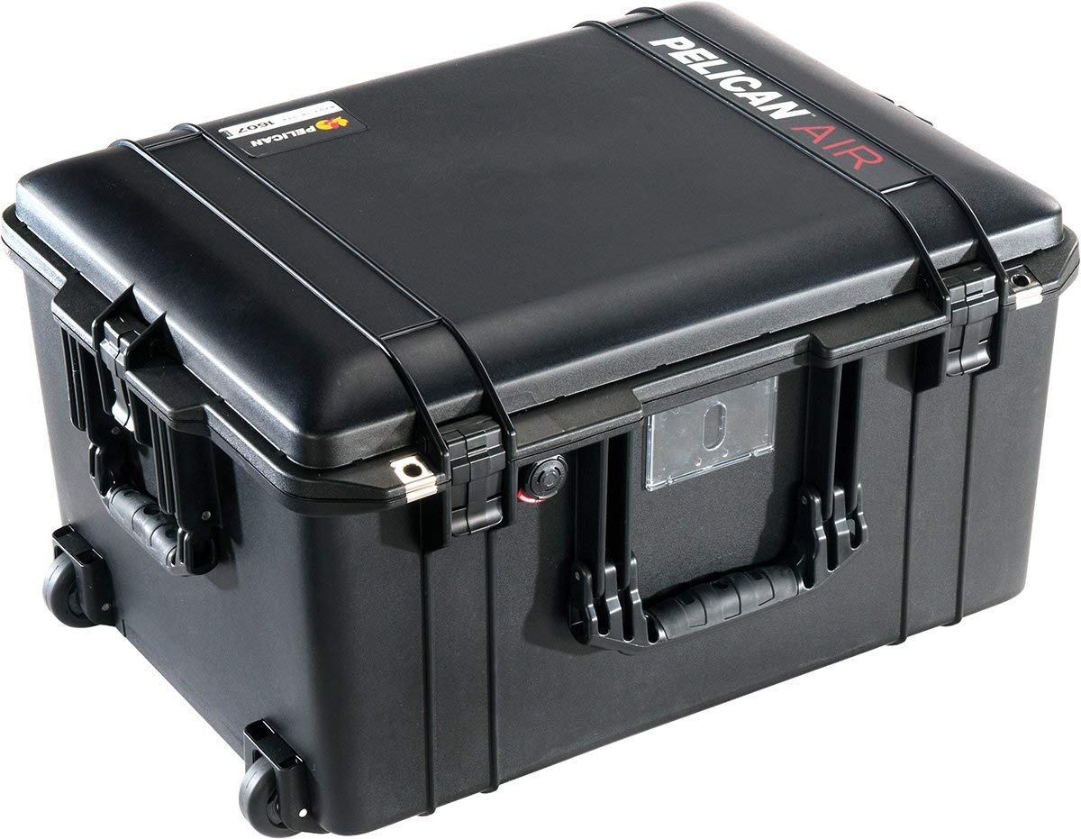 Pelican Air 1607 Case with Foam (Black) by Pelican