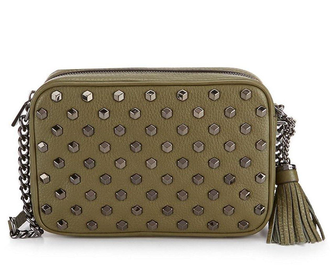 ae9e0d2ca15f MICHAEL Michael Kors Ginny Tasseled Studded Medium Cross-Body Bag  Handbags   Amazon.com
