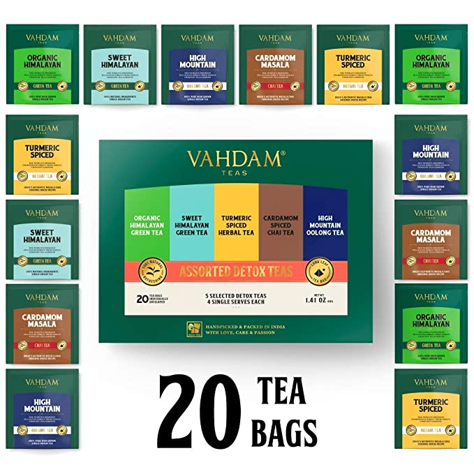 migliori recensioni di tè detox di perdita di peso