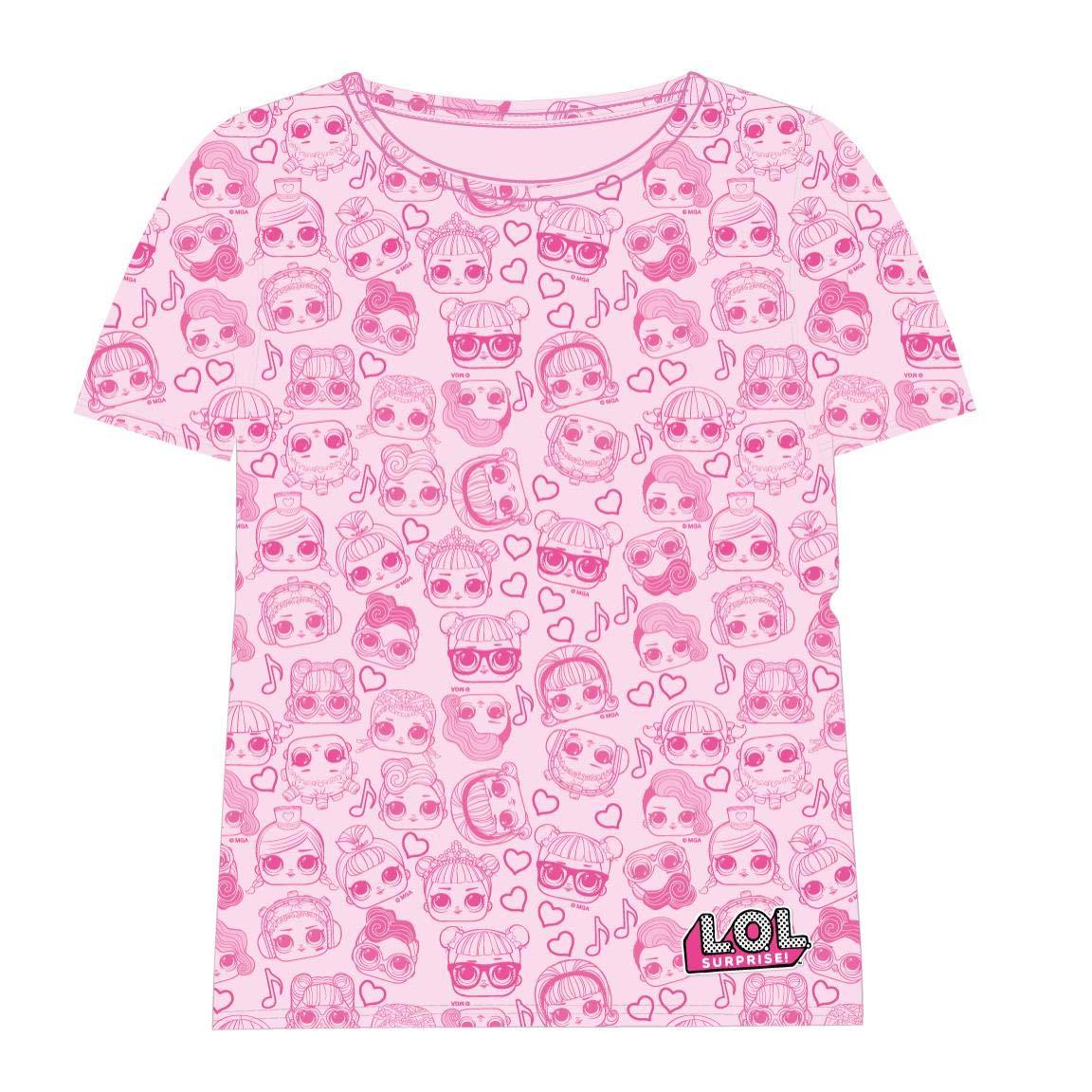 Cerd/á Camiseta Manga Corta LOL Ni/ñas