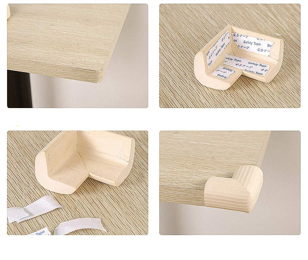 Child Safety Table Corner Guard Cushion Edge Corner Protection Sponge Anti-Collision Angle Table Edge Corner Protectors (4 PCS)
