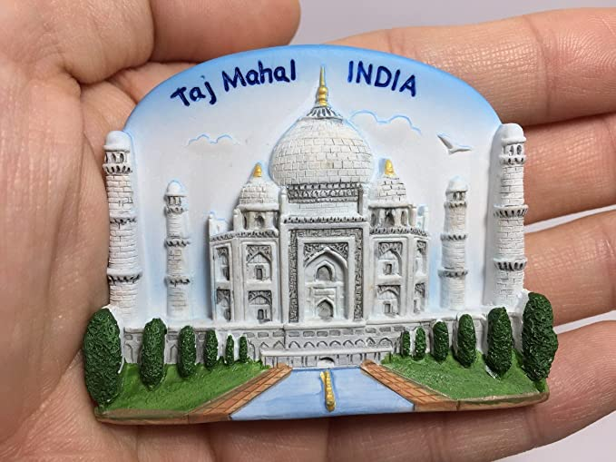 Taj Mahal Indian India 8th Wonder 3D Resin TOY Fridge Magnet Mr/_air/_thai