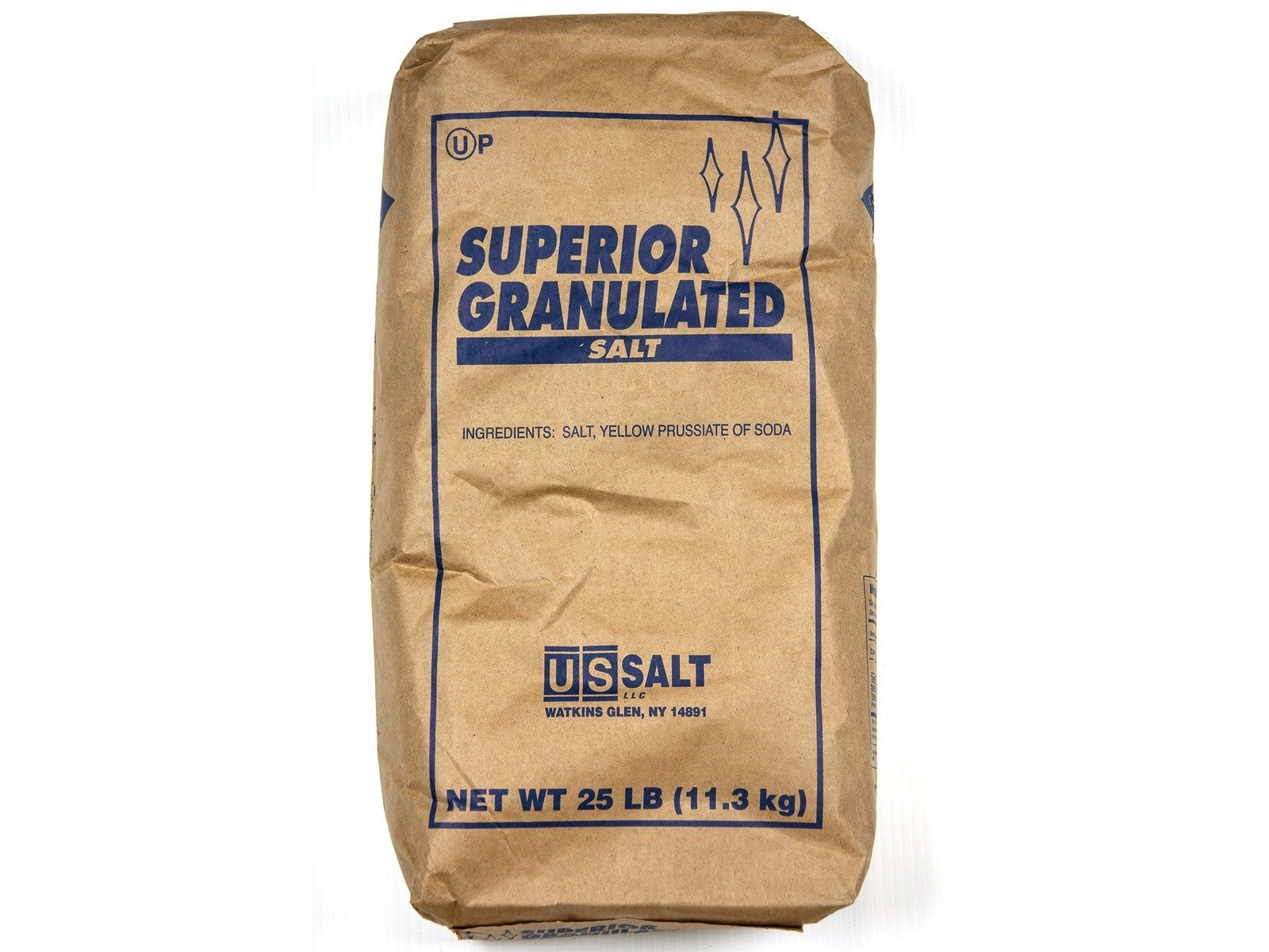 Bulk Table Salt, Superior Granulated 25 lbs.
